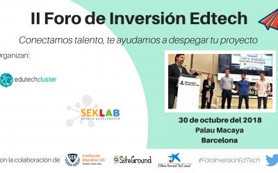 II Foro de inversión EdTech