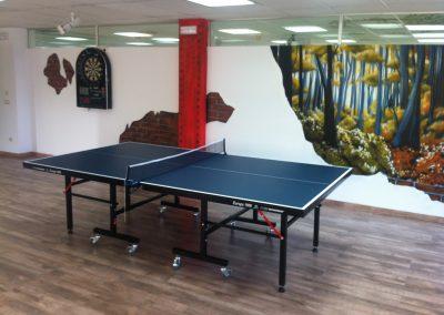 SEk Lab Campus ocio ping pong