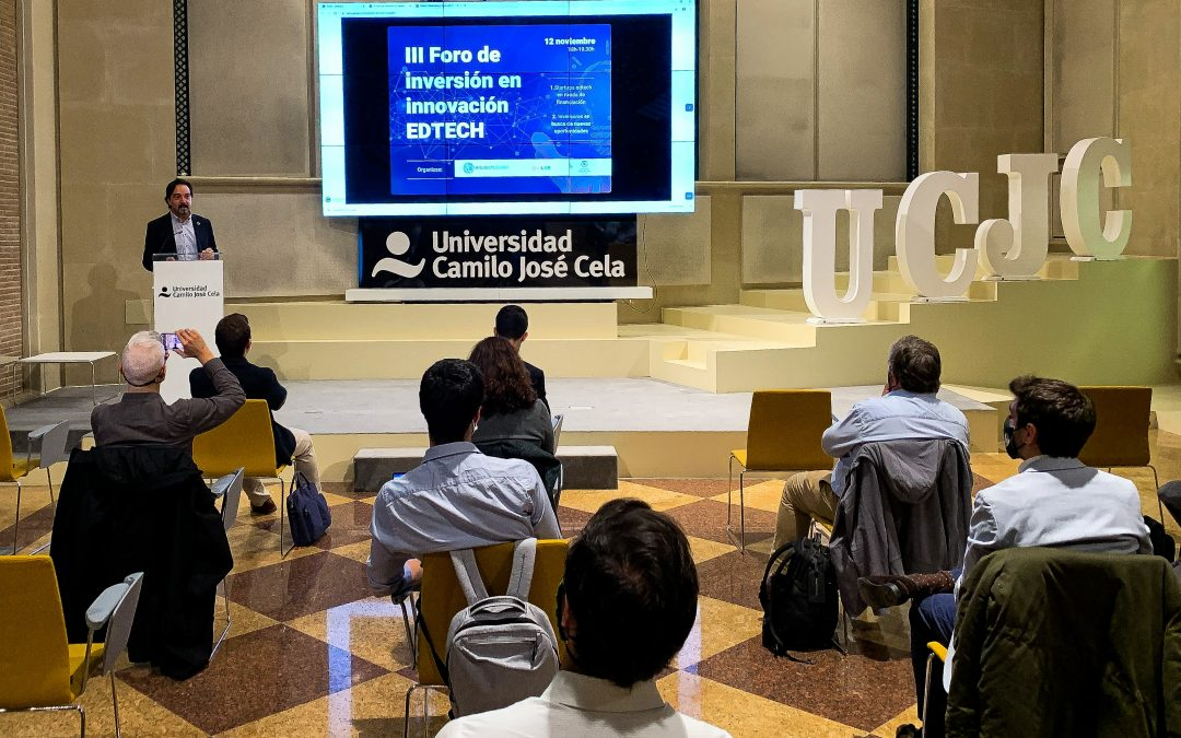 Celebración del III Foro de Inversión en startups de educación