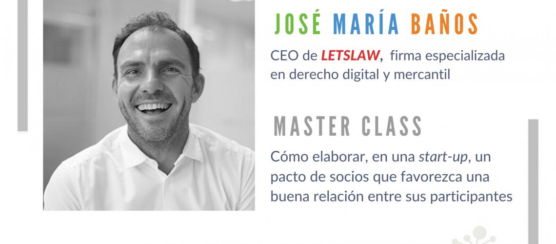 José María Baños, LETSLAW